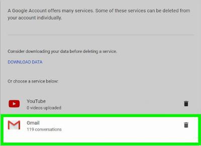 Cara Mudah Menghapus Akun Gmail  Atau Gmail