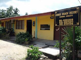 Comel Beach Resort Masjid Tanah Malaysia