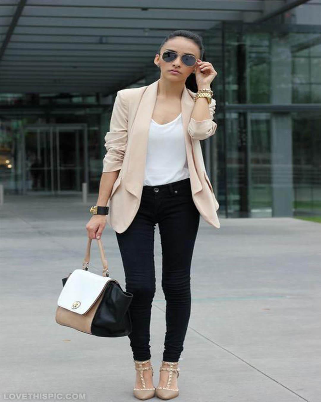 Outfits Con Pantalon Negro Casuales Tumblr Que Estan De Moda Elsexoso