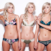 Check out world's most identical triplets who do everything the same(photos)