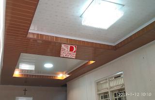 Pemasangan Shunda Plafon di Rumah Bapak Eko - Shunda Plafon Purwokerto