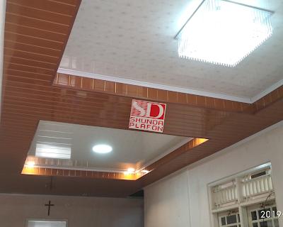 Pemasangan Shunda Plafon di Rumah Bapak Eko
