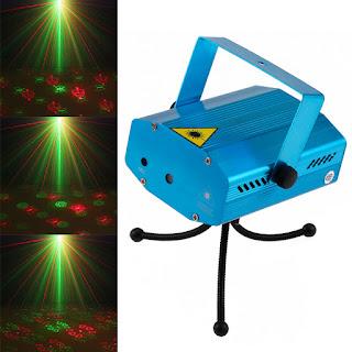 Đèn trang trí giáng sinh led lazer stage lighting