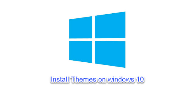 Install themes on Windows 10