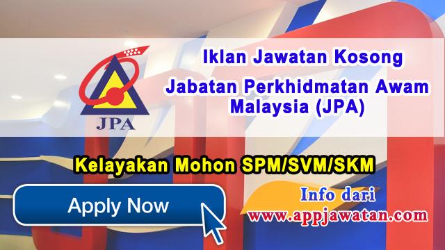 Jabatan Perkhidmatan Awam Malaysia (JPA)