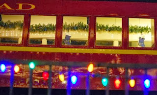 Decorated Train Cars