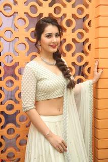 Raashi Khanan looks stunning in Crop Top Deep neck Choli Ghagra Transparent Chunni WOW ~  Exclusive Celebrities Galleries 057.JPG