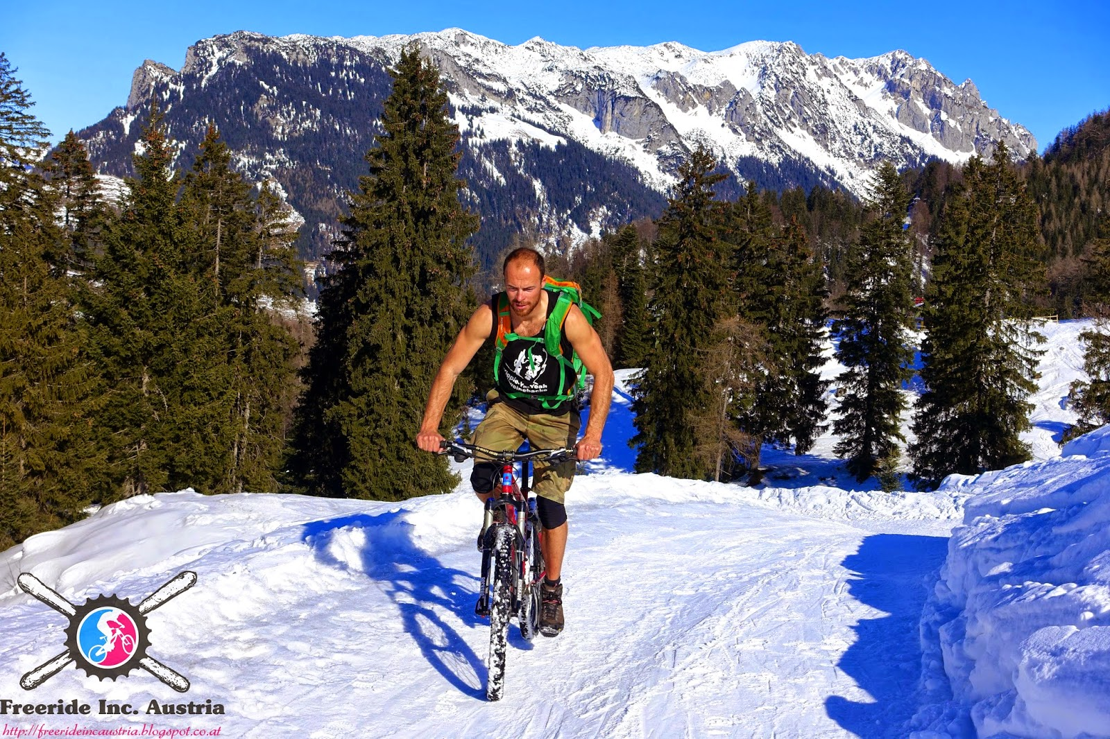 Mountainbike Blogger Wintertouren