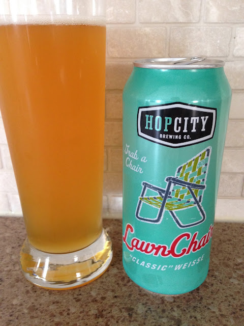 HopCity LawnChair Classic Weisser Beer