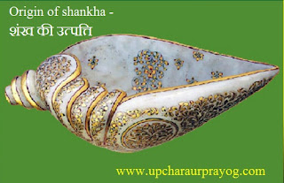 Shankh-शंख की उत्पत्ति कैसे हुई