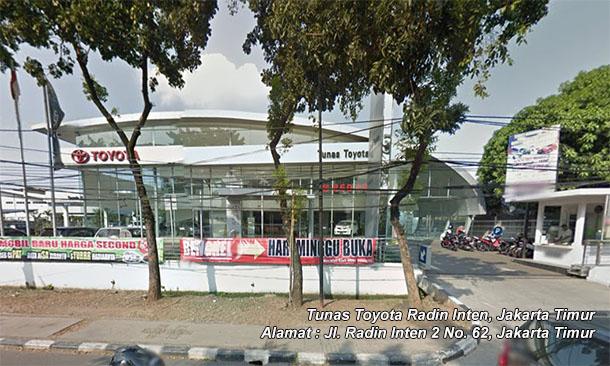 Tunas TOYOTA RADIN INTEN | JAKARTA Timur