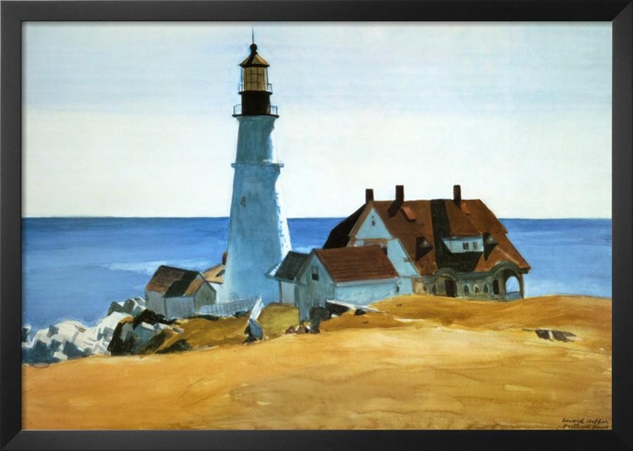 Belfagor i fari nella pittura di hopper for Hopper finestra sul mare