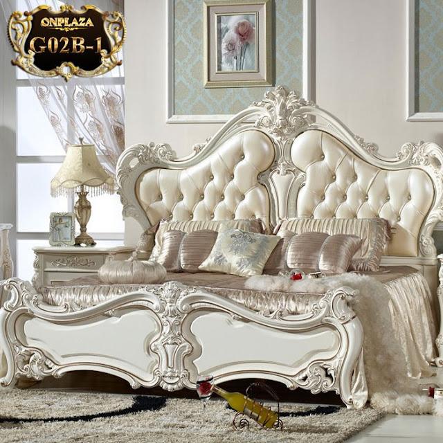 Giường cưới tân cổ điển phong cách châu Âu sang trọng