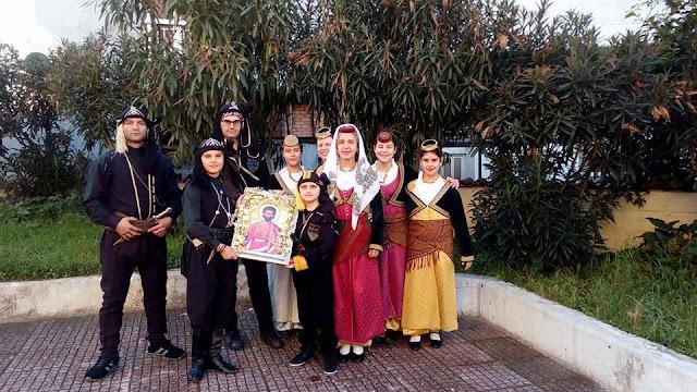 Έκοψαν Βασιλόπιτα και τίμησαν τη μνήμη του Αγ. Ευγενίου οι Πόντιοι στην Πάτρα