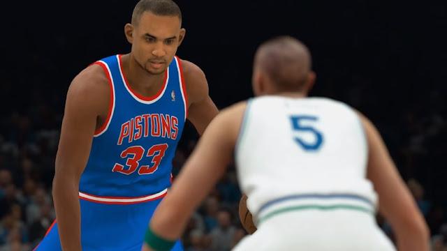 NBA 2k18 All-Time Team | PistonsFr, actualité des Detroit Pistons en France