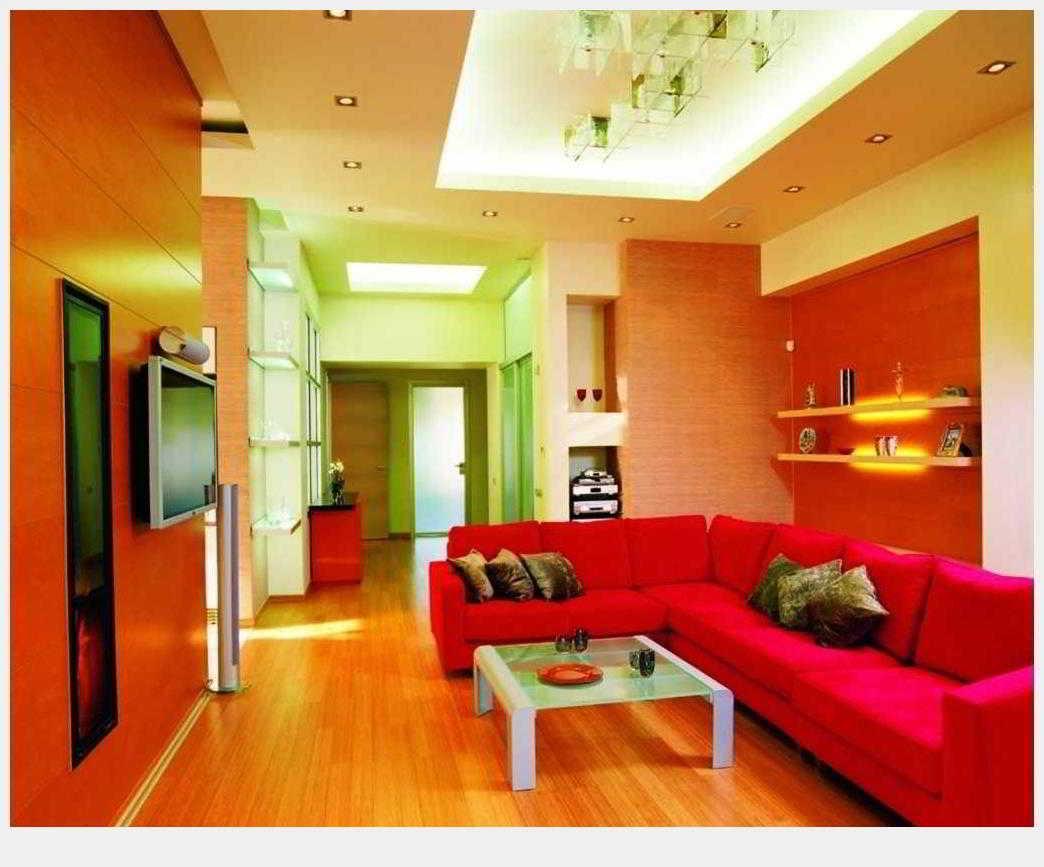 Kumpulan Warna  Cat  Ruang Tamu Orange Informasi Desain