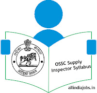 OSSC Supply Inspector Syllabus