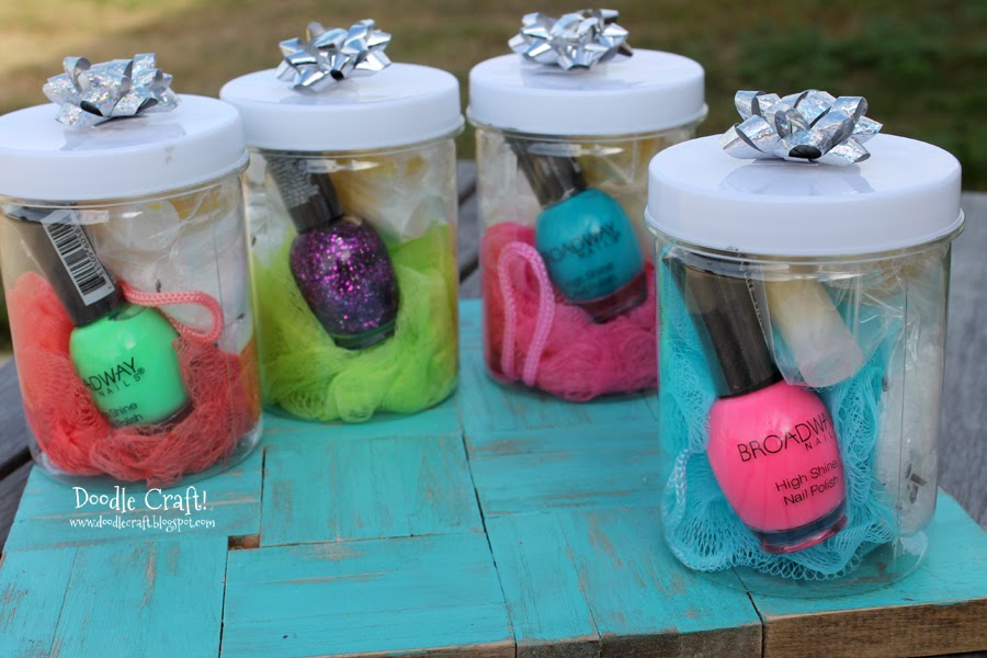 Spa Kit Gift Idea & Doodlecraft: Spa Kit Gift Idea