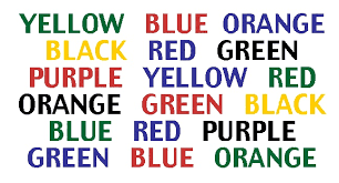 tes warna, psikotes stroop effect test, psikologi