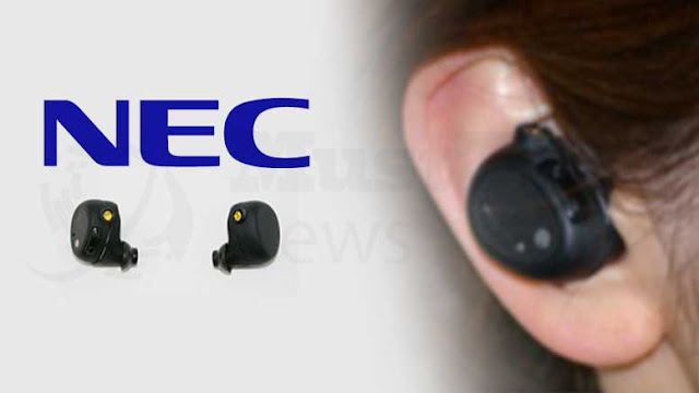"""NEC Improves the Safety and Security of Computing with """"Hearable Device"""""""