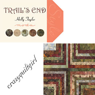 Moda TRAIL'S END BATIKS Quilt Fabric by Holly Taylor
