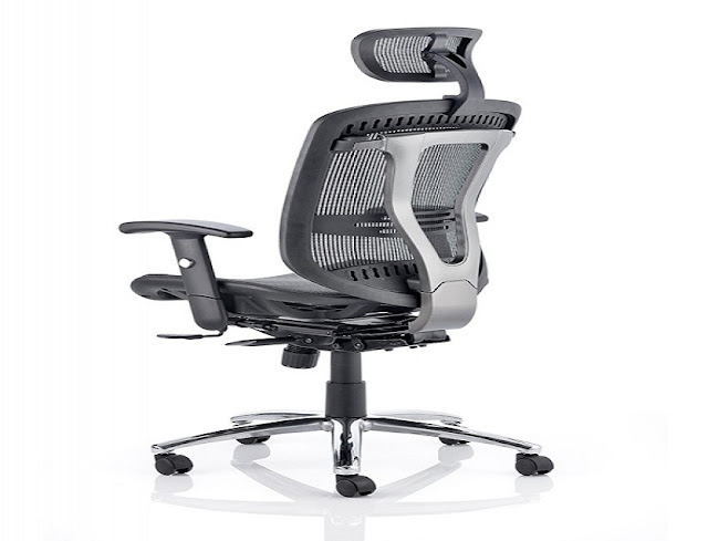 best buy berkshire executive mesh ergonomic office chair w/ lumbar support for sale