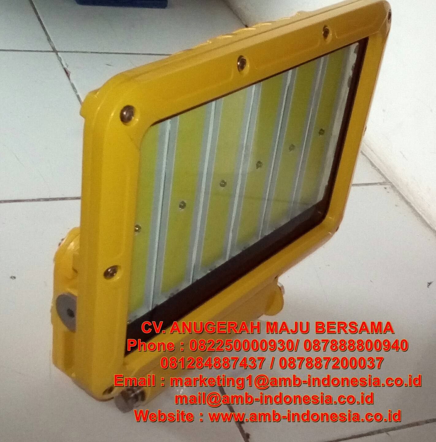 Warom Explosion Proof Electrical: Lampu Sorot Led
