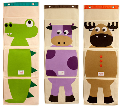 wall organizers for kids, with animals