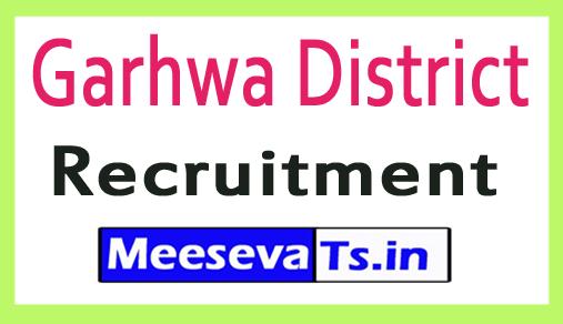 Garhwa District Recruitment