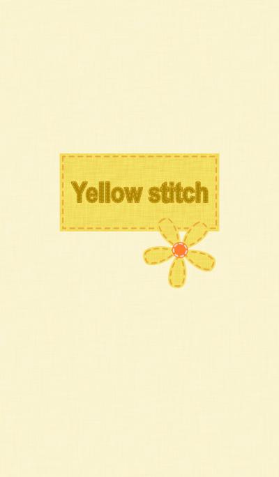 Yellow stitch