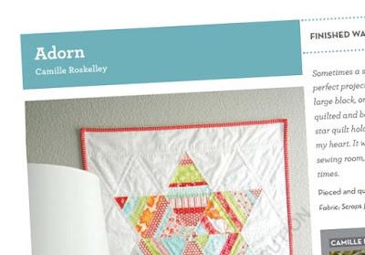 Adorn wall quilt