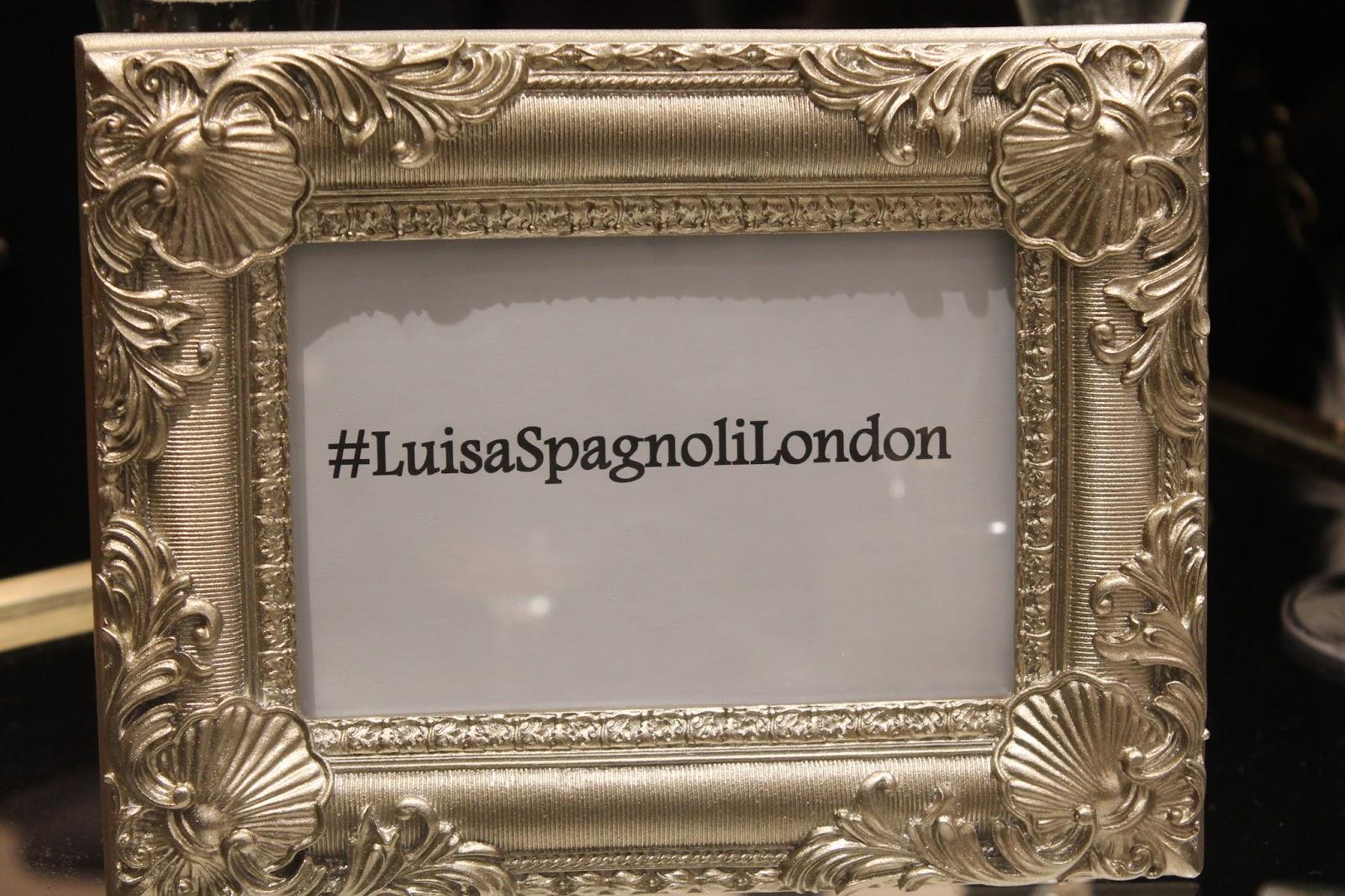 Luisa Spagnoli Store Launch