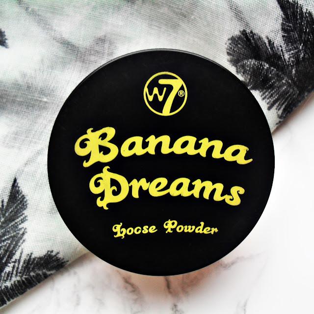 Na żółto | W7 | Banana Dreams Loose Powder