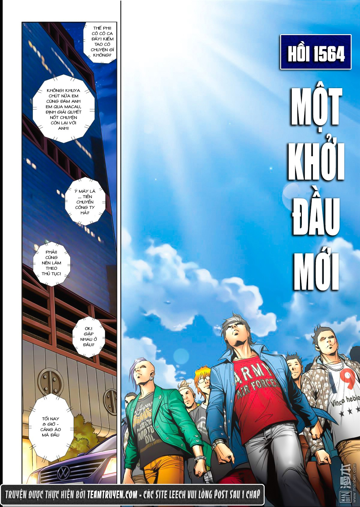 Người Trong Giang Hồ NetTruyen chap 1564 - Trang 2