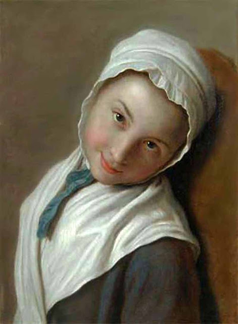 Ротари Пьетро Антонио Pietro Antonio Rotari Девушка в белом чепчике