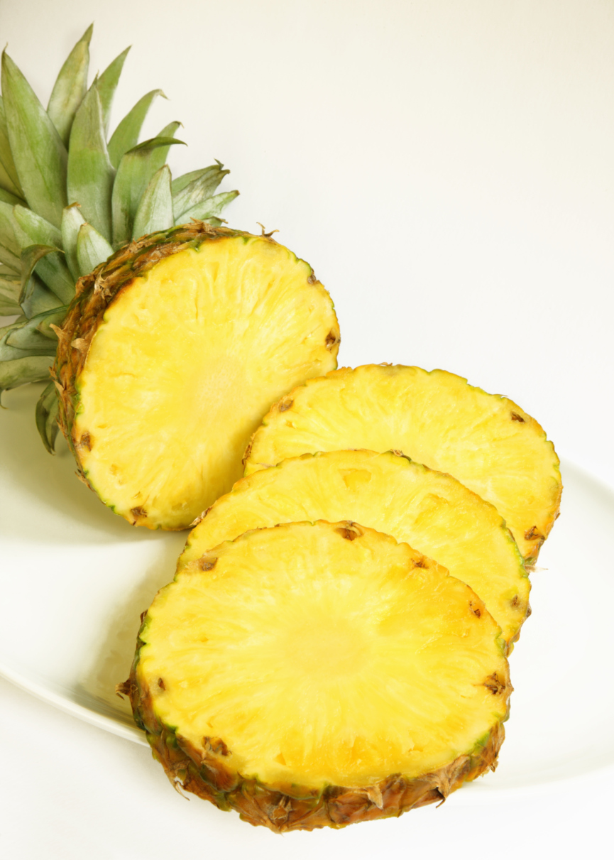 The CC Palate: Janice's Grilled Rum Basted Pineapple Kabobs