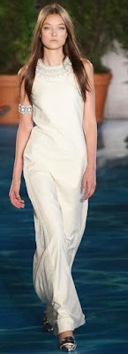 Then & Now: White Sheath Wedding Gown