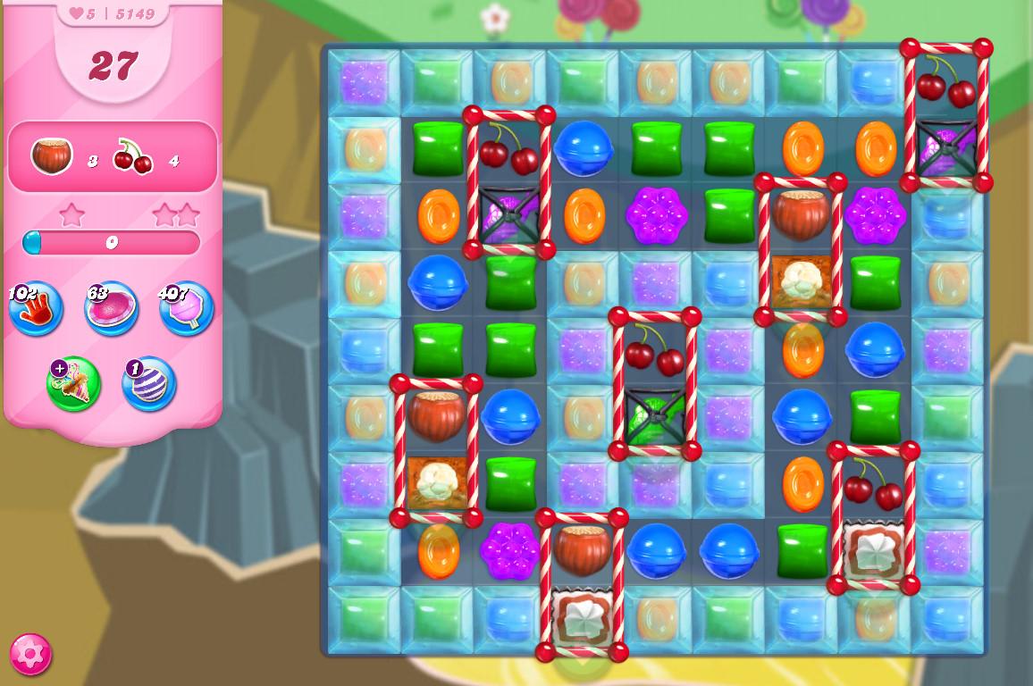 Candy Crush Saga level 5149