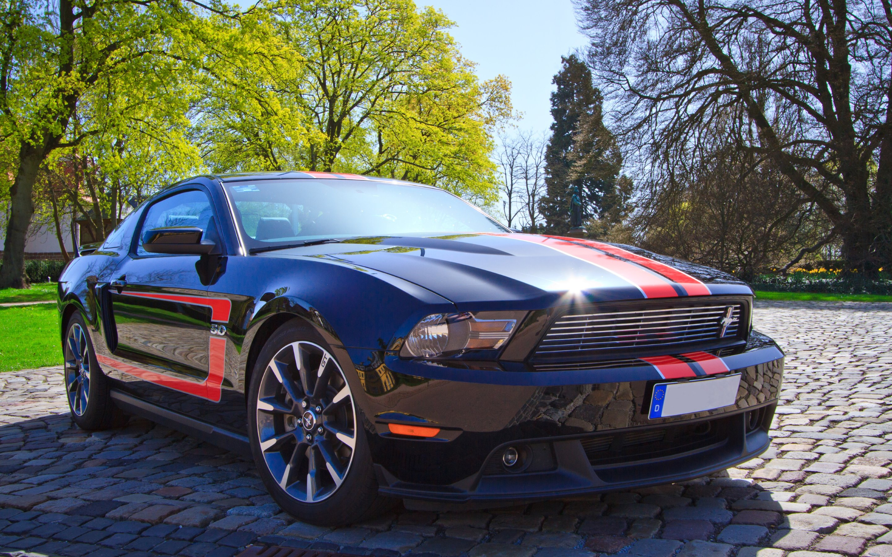 ford mustang gt sports car   hd wallpapers · 4k