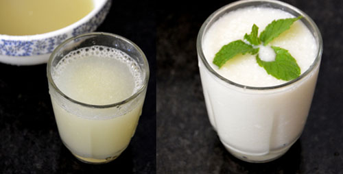 nellikai juice-gooseberry buttermilk