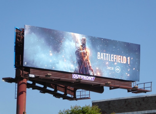 Battlefield 1 game billboard
