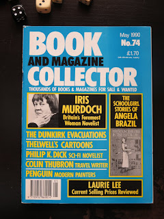 Philip K. Dick im Book and Magazine Collector May 1990