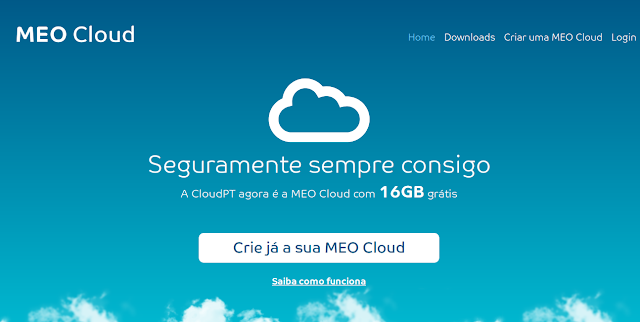 MEO Cloud - Dropbox and Copy Alternative