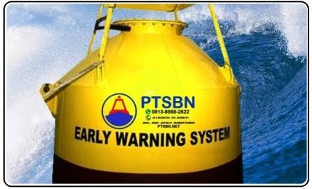 alat deteksi tsunami, fungsy buoy, jasa perawatan buoy ptsbn, harga buoy tsunami
