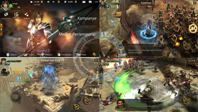 Dynasty Warriors Unleashed Apk Full Update