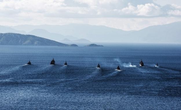 Αιφνιδιαστικά στο κέντρο του Αιγαίου το ερευνητικό σκάφος TCG Cesme