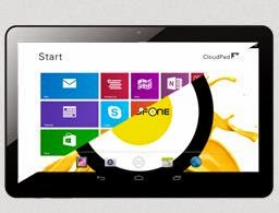 CloudFone CloudPad Epic 7.1, 7-inch Tablet That Runs On Both Android and Windows