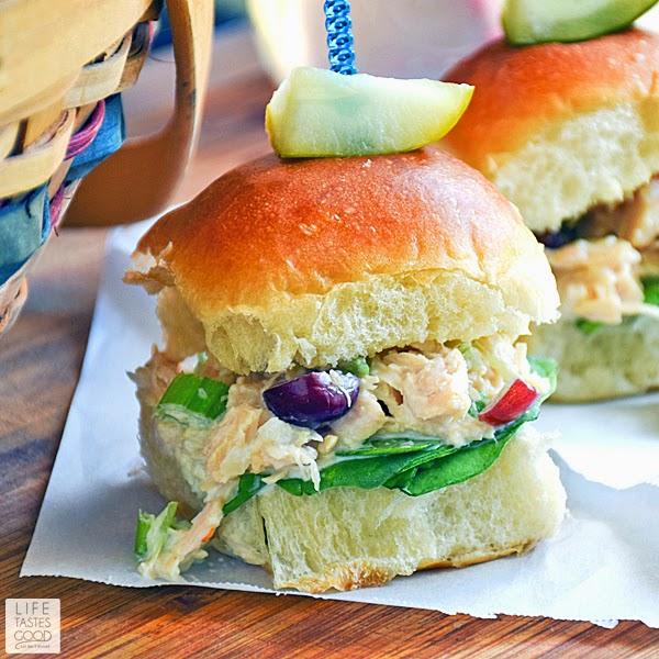 Chicken Salad Sliders | by Life Tastes Good