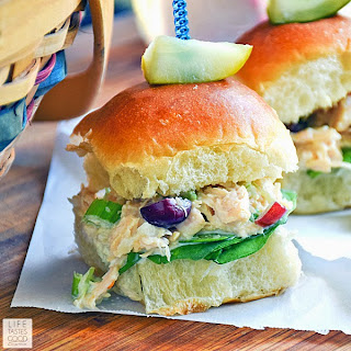 Chicken Salad Sliders | by Life Tastes Good