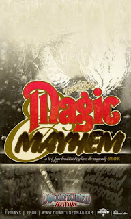 magic mayheam show, downtuned radio